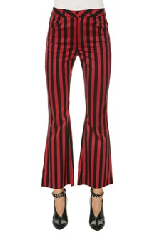 MARQUES ALMEIDA stripy suiting capris