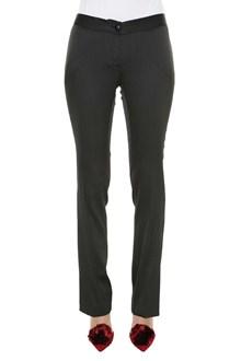 LIU JO Jaquard pinstripe trousers