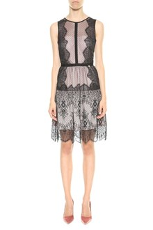 LIU JO Lace dress with contrast lining