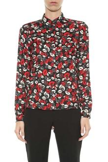 LIU JO Lipstick print shirt