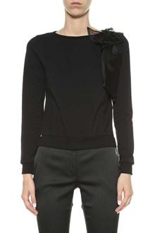 LIU JO Sweatshirt with organza appliques