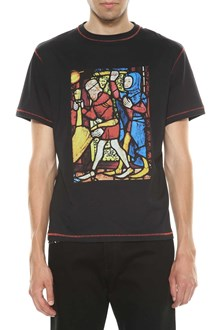 J W ANDERSON Stain glass printed t-shirt