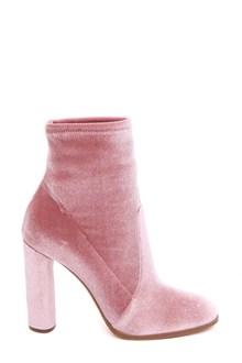 CASADEI Velvet ankle boots