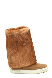CASADEI Rabbit fur boots
