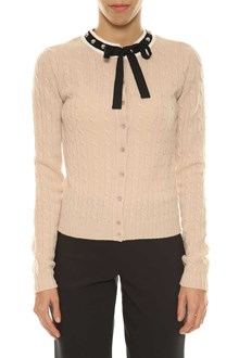 RED VALENTINO Cardigan with bow