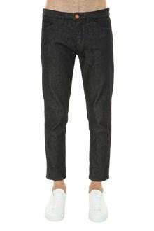 PT 01 Skinny jeans in black denim