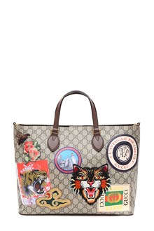 GUCCI Courrier GG Supreme shopping bag