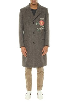 GUCCI vintage coat with embroidery