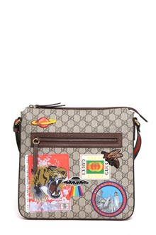 GUCCI GG Supreme fabric Courrier bag