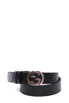 GUCCI cintura uomo ps.37 int gucci sig/leather
