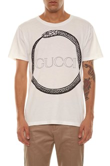 GUCCI short sleeves treated light cotton jersey loved t-shirt