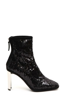 GIUSEPPE ZANOTTI DESIGN Paillettes ankle booties