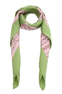 GUCCI Roses printed foulard