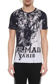 BALMAIN Horse print t-shirt