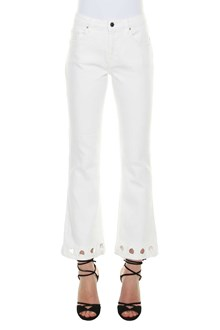 VICTORIA VICTORIA BECKHAM Jeans with embroidey