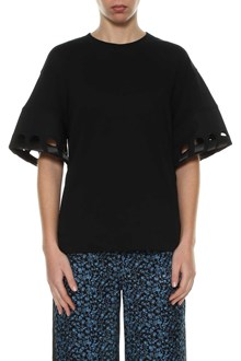 VICTORIA VICTORIA BECKHAM T-shirt with embroidery