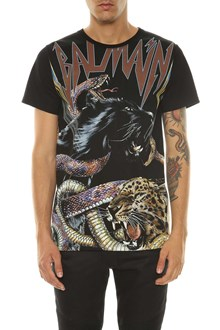 BALMAIN t-shirt imprime tigre