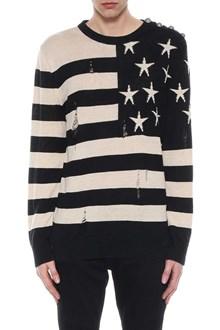 BALMAIN American flag pull