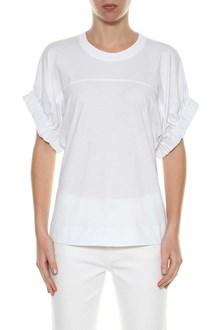 VICTORIA VICTORIA BECKHAM T--shirt with elastic sleeves