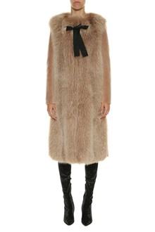 BLANCHA Shearling anf fox fur coat