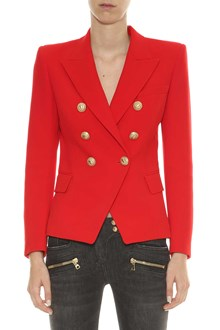 BALMAIN Double-breasted blazer with six golden buttons
