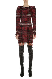 BALMAIN Tweed short dress