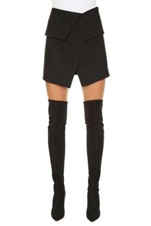 BALMAIN Asymmetric mini skirt