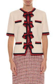 GUCCI Short jacket with bows
