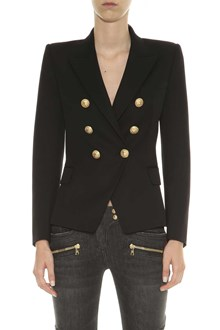 BALMAIN Double-breasted blazer with golden buttons