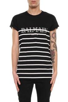 BALMAIN t-shirt marinere print Balmain paris