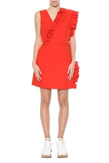 MSGM Short dress with frills