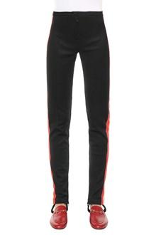 GUCCI leggings technical jersey w/web gucci detail