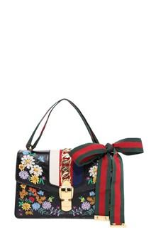 GUCCI 'Sylvie' medium handbag with embroideries
