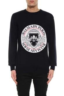 BALMAIN Intarsia sweater