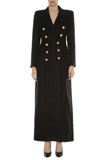 BALMAIN Mohair extra long coat