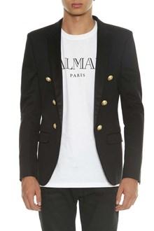 BALMAIN Open blazer with golden buttons