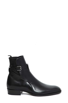SAINT LAURENT Wyatt jodhpur stivaletto fibbia