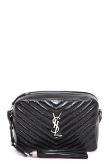 SAINT LAURENT Medium Lou satchel cuir vintage cirè 23 x 6 x 16