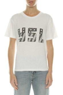 SAINT LAURENT YSL printed t-shirt