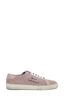 SAINT LAURENT Suede low top sneaker court classic