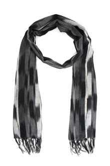 SAINT LAURENT Ikat Pinceau printed scarf