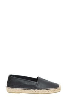 SAINT LAURENT Leather espadrillas