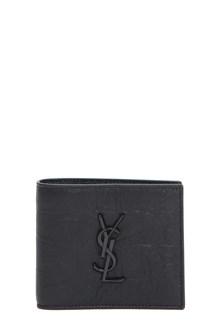 SAINT LAURENT East/West wallet croco