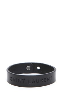 SAINT LAURENT Leather bracelet