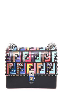 FENDI 'Slim 2jour' pouch with studded logo