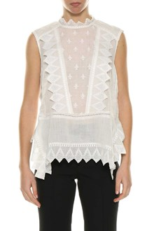 ISABEL MARANT white sleeveless top