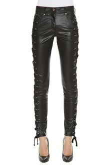 VERSUS VERSACE Fake leather skinny pants