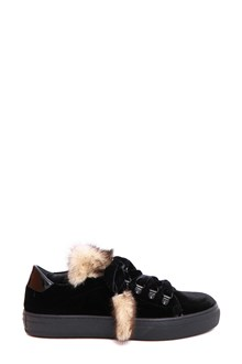 TOD'S sneaker ganci nappine volpe