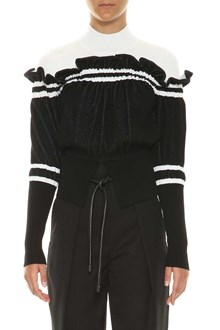 3.1 PHILLIP LIM Turtleneck sweater with frills