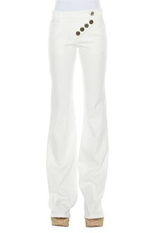 CHLOÉ Jeans with lateral buttons